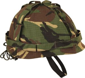 Kids Military Style British dpm Camo Army Helmet
